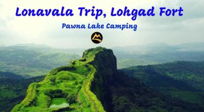 Lonavala Trip, Lohgad Fort Trek, Pawana Lake Camping | Muddie Trails, Hyderabad
