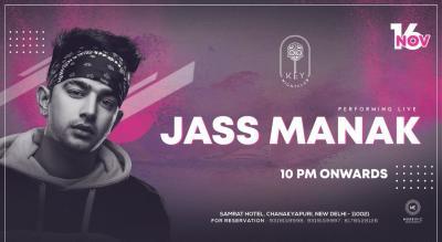 Jass Manak Performing Live