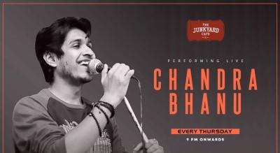 Chandra Bhanu  Performing Live