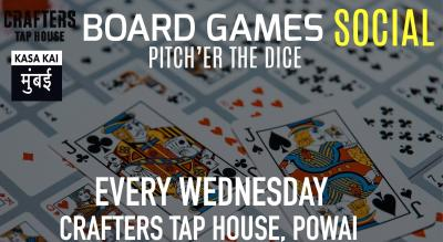Board Games Social: Pitch'er The Dice At Crafters Tap House, Powai