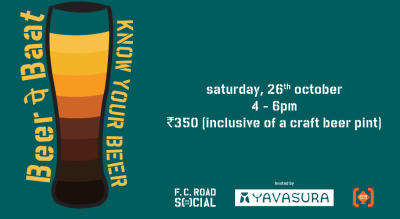 Beer पे Baat: Know Your Beer with Yavasura