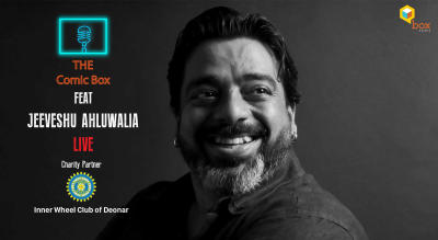 The Comic Box feat Jeeveshu Ahluwalia