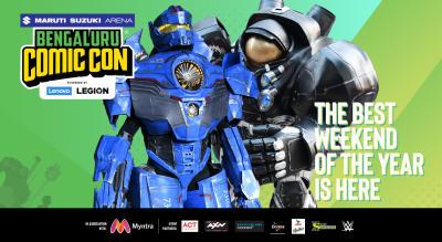 Maruti Suzuki Arena Bengaluru Comic Con 2019