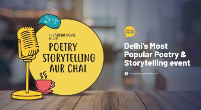 Poetry, Storytelling aur Chai ( Audience only )