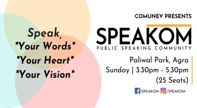 Speakom Agra - Public Speaking Community