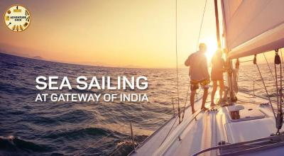 Adventure Geek - Sea Sailing at Gateway of India
