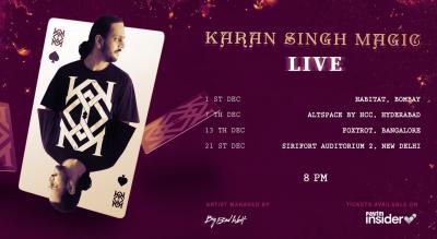 Karan Singh Magic : L!VE 2019 : BANGALORE