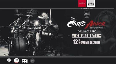 The Chris Adler Experience - Drum Clinic, Guwahati