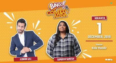 Bingo comedy adda present Kanan Gill and Sumukhi Suresh | Kolkata