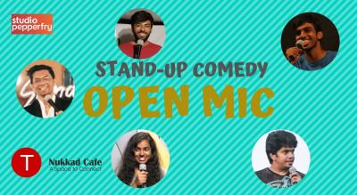 Stand-up Comedy Open Mic - S. B. Road