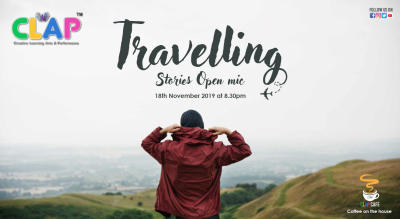 Travelling Stories Open Mic