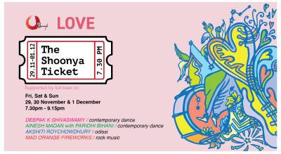 The Shoonya Ticket: LOVE