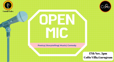 Open Mic Evening - Gurugram