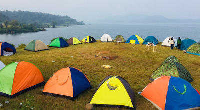 Bhandardara Lakeside Camping Under the Million Stars.