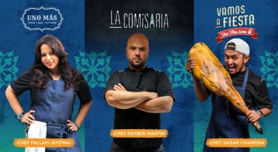 Curated Brunch by Chef Rayber Martin of La Comisaria, Spain at No Siesta, Vamos A Fiesta! Uno Más Turns One