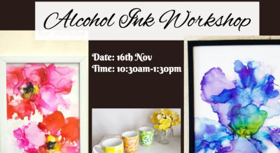 Alcohol Ink Workshop