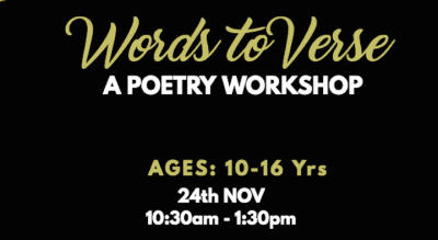 Words to Verse - A Poetry Workshop