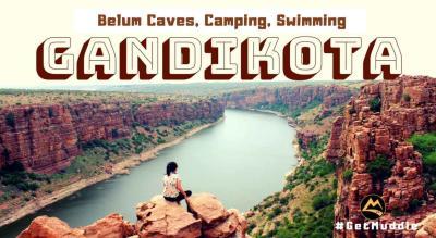 The Gorgeous Gandikota – Camping, Swimming, Belum Caves  | Muddie Trails, Hyderabad