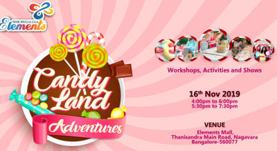 Come to Candyland this Children's day!