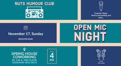 Open Mic Night | NUTS
