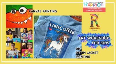 Rheas's Art Workshop @HappyOn Exhibition