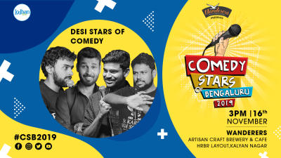 Desi Stars of Comedy at CSB 2019