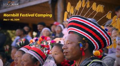 Hornbill Festival Camping with Stay High Adventures