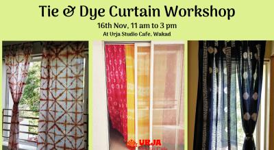 Tie & Dye Curtain Workshop ( Shibori)