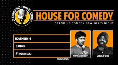 House For Comedy with Pratyush & Vikramjit