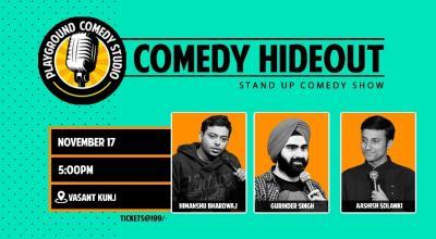 Comedy Hideout Ft. Himanshu, Gurinder & Aashish