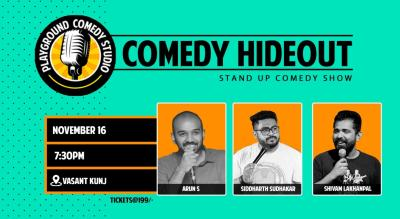 Comedy Hideout at Playground