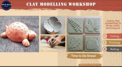 Clay workshop for kids and adults