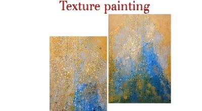 Texture Painting: By Priyanka Gupta
