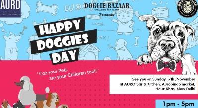 Doggie Bazaar Happy Doggies Day Party