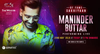 Maninder Buttar Live at Story Club, Westin Gurgaon