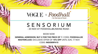 Foodhall & Vogue India: Sensorium
