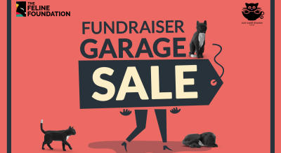 Shop at the Garage Sale by The Feline Foundation