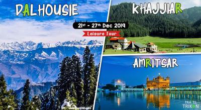 Dalhousie – Khajjiar – Amritsar Leisure Tour