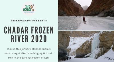 Chadar Frozen River Trek 2020 | TrekNomads