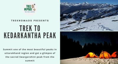 Trek to Kedarkantha Peak | TrekNomads