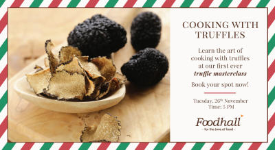 Cooking With Truffles - Foodhall@MKT