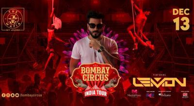 Bombay Circus India Tour Ft Dj Lemon at The Mafia Pune -13th Dec