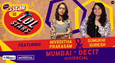 5Star ke LOLStars ft Niveditha & Sumukhi   Mumbai