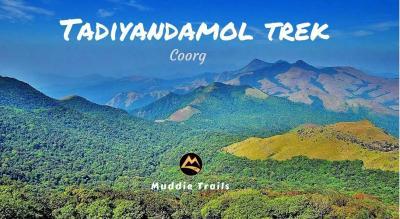 Coorg Tadiyandamol Peak Trek, Iruppu Waterfalls | Muddie Trails