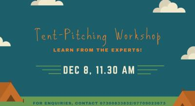 Tent-Pitching Workshop