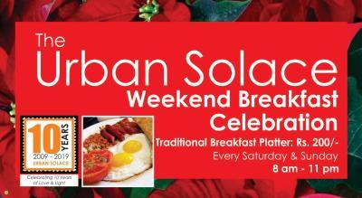 The Urban Solace Weekend Breakfast Celebration