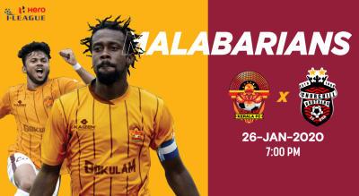 Hero I League 2019-20: Gokulam Kerala FC VS Churchill Brothers