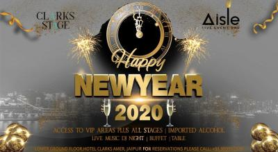 New Year Eve 2019 at Aisle Clarks Stage