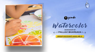 Watercolor Workshop for beginners by Pallavi Bhargava