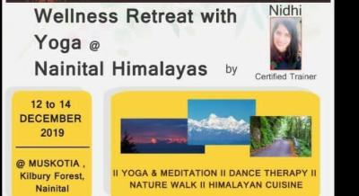 Wellness retreat by Yogini Nidhi at Muskotia